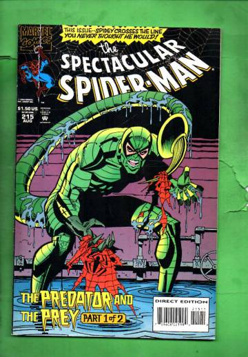 The Spectacular Spider-Man Vol. 1 #215 Aug 94