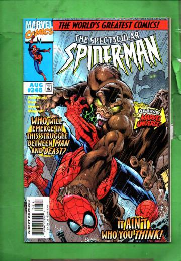 The Spectacular Spider-Man Vol. 1 #248 Aug 97