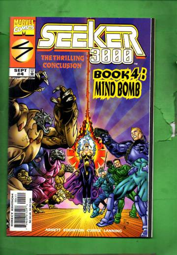 Seeker 3000 Vol. 1 #4 Sep 98