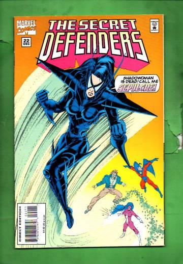 Secret Defenders Vol. 1 #22 Dec 94