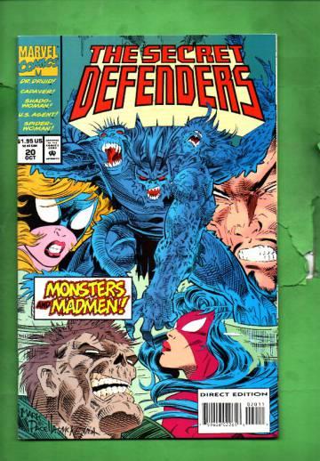 Secret Defenders Vol. 1 #20 Oct 94