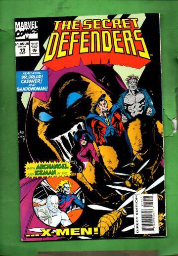 Secret Defenders Vol. 1 #19 Sep 94