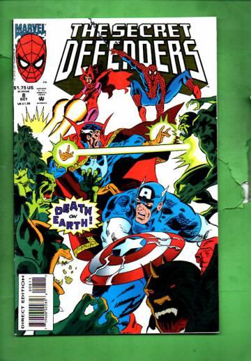 Secret Defenders Vol. 1 #8 Oct 93