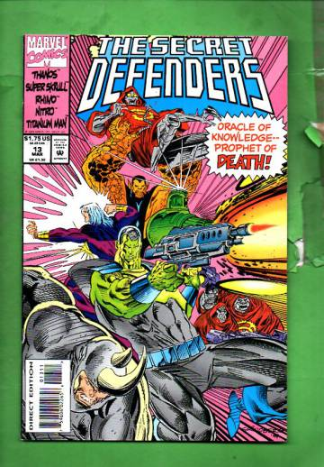 Secret Defenders Vol. 1 #13 Mar 94
