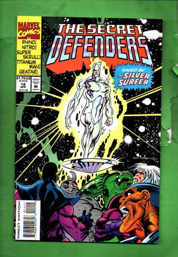 Secret Defenders Vol. 1 #14 Apr 94