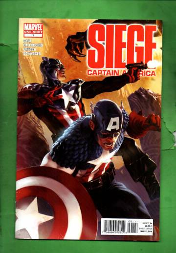 Siege: Captain America #1 Jun 10