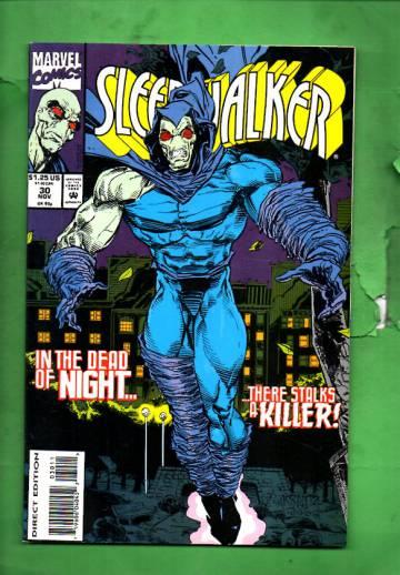 Sleepwalker Vol. 1 #30 Nov 93