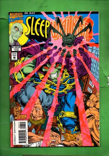 Sleepwalker Vol. 1 #26 Jul 93