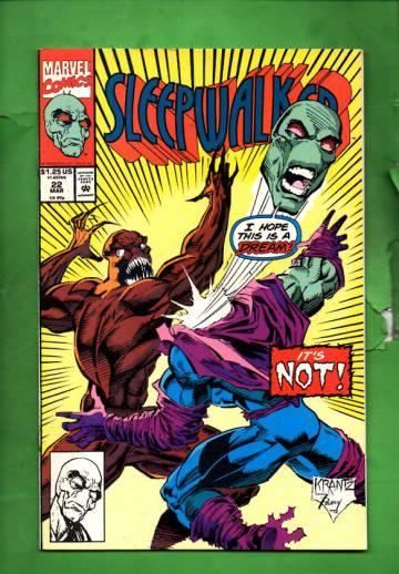 Sleepwalker Vol. 1 #22 Mar 93