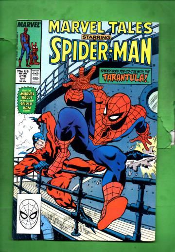 Marvel Tales Starring Spider-Man Vol. 1 #210 Apr 88