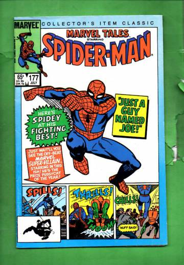 Marvel Tales Starring Spider-Man Vol. 1 #177 Jul 85