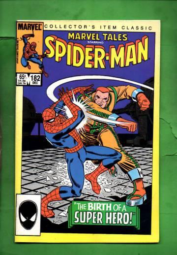 Marvel Tales Starring Spider-Man Vol. 1 #182 Dec 85