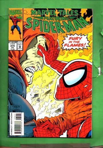 Marvel Tales Featuring Spider-Man Vol. 1 #275 Jul 93