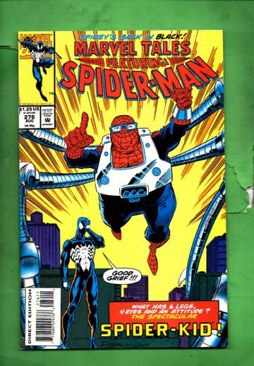 Marvel Tales Featuring Spider-Man Vol. 1 #276 Aug 93