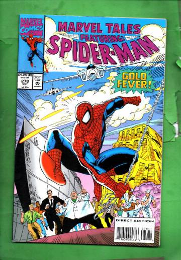 Marvel Tales Featuring Spider-Man Vol. 1 #278 Oct 93