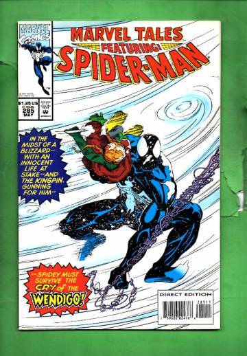 Marvel Tales Featuring Spider-Man Vol. 1 #285 May 94