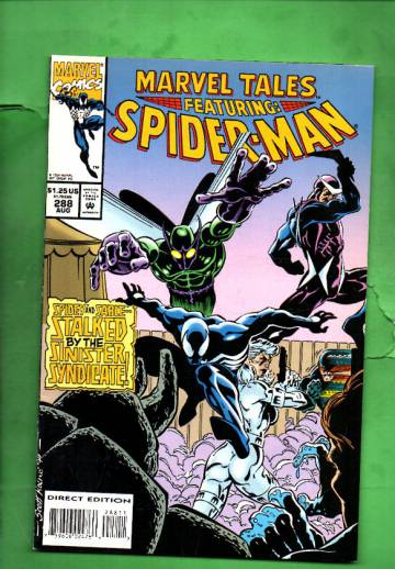 Marvel Tales Featuring Spider-Man Vol. 1 #288 Aug 94