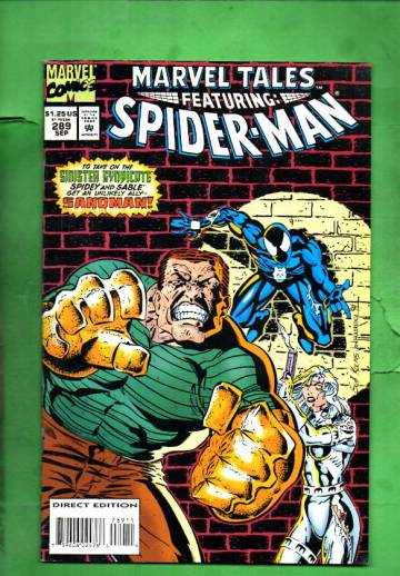Marvel Tales Featuring Spider-Man Vol. 1 #289 Sep 94