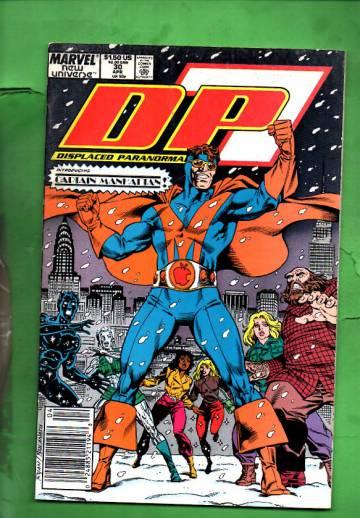 D.P. 7 Vol. 1 #30 Apr 89