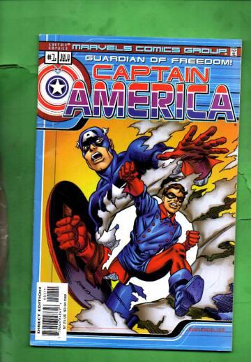 Marvel Comics: Captain America #1 Vol. 1 #1 Jul 00