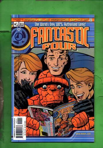 Marvel Comics: Fantastic Four #1 Vol. 1 #1 May 00