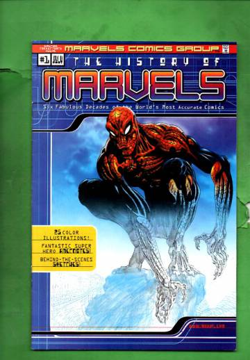 The History of Marvel Comics Vol. 1 Jul 00