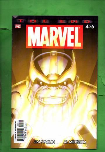 Marvel Universe: The End Vol. 1 #4 Jun 03