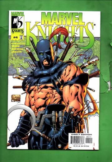 Marvel Knights Vol. 1 #4 Oct 00