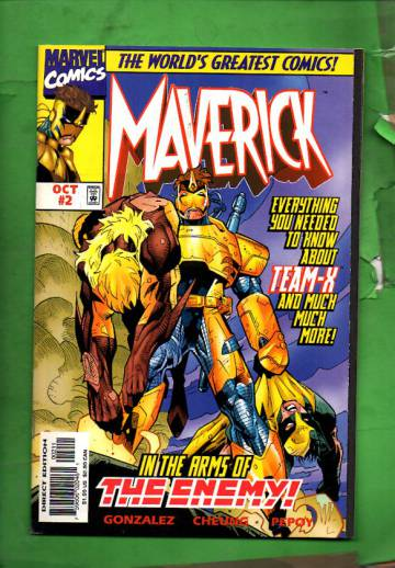 Maverick Vol. 1 #2 Oct 97