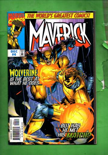 Maverick Vol. 1 #4 Dec 97