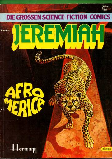 Die grossen science-fiction-comics 15 - Jeremiah: Afroamerica