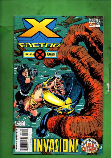 X-Factor Vol 1 #110 Jan 95