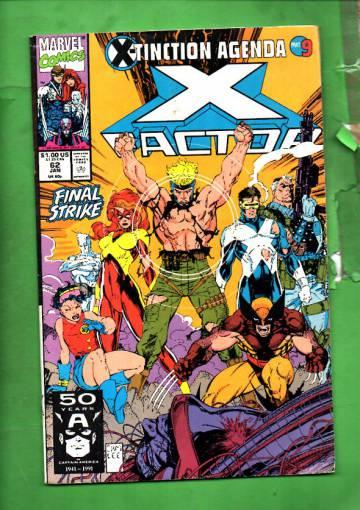 X-Factor Vol 1 #62 Jan 91