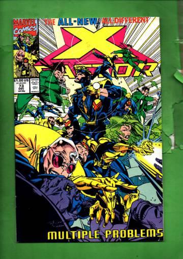X-Factor Vol 1 #73 Dec 91