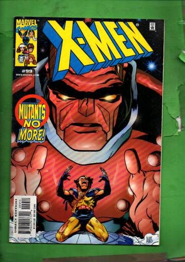 X-Men Vol 1 #99 Apr 00