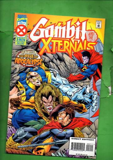 Gambit and the X-ternals Vol 1 #2 Apr 95