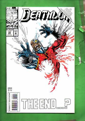 Deathlok Vol. 1 #29 Nov 93