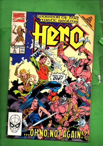 Hero Vol. 1 #2 Jun 90