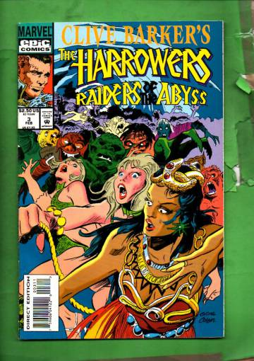Clive Barker's the Harrowers Vol. 1 #3 Feb 94