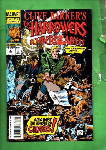 Clive Barker's the Harrowers Vol. 1 #5 Apr 94