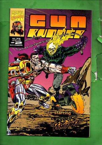 Gun Runner Vol. 1 #2 Nov 93