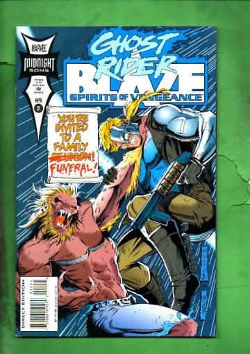 Ghost Rider/Blaze: Spirits of Vengeance Vol. 1 #21 Apr 94