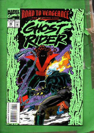 Ghost Rider Vol. 2 #42 Oct 93