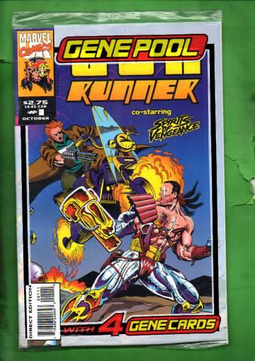 Gun Runner Vol. 1 #1 Oct 93 (avaamaton pakkaus, sisältää kortit)