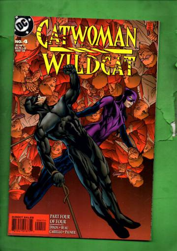 Catwoman/Wildcat #4 Nov 98