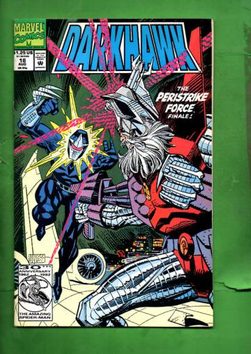 Darkhawk Vol. 1 #18 Aug 92