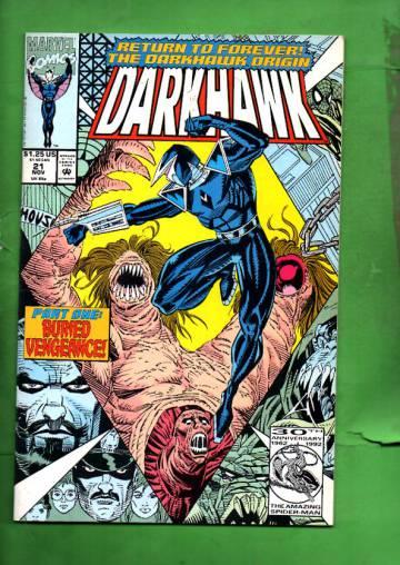 Darkhawk Vol. 1 #21 Nov 92