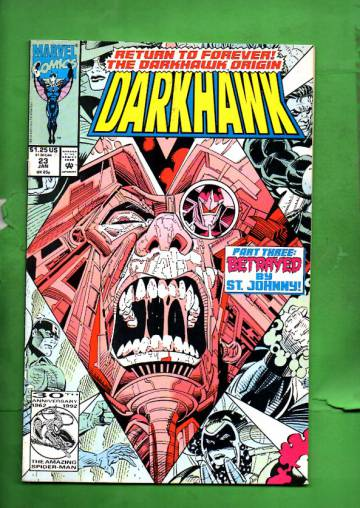 Darkhawk Vol. 1 #23 Jan 93