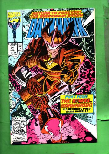 Darkhawk Vol. 1 #24 Feb 93