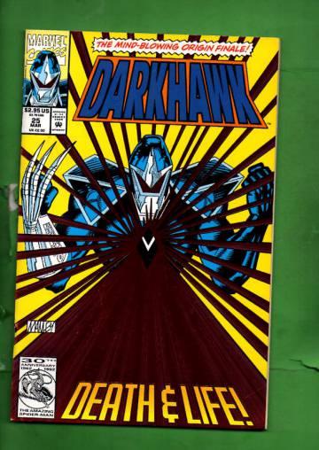 Darkhawk Vol. 1 #25 Mar 93